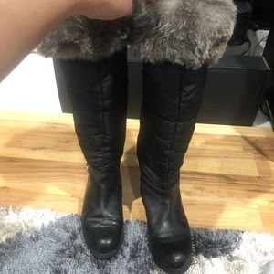Michael Kors Shoes - Michael Kors quilted insulated tall boots perfect